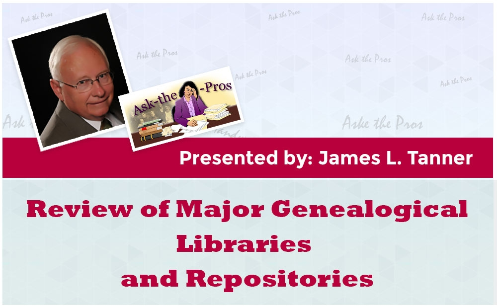 Review of Major Genealogical Libraries and Repositories