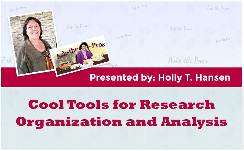 Cool Tools for Research Organization and Analysis