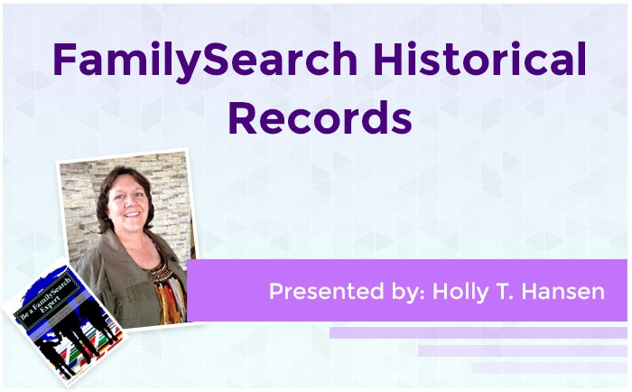 FamilySearch Historical Records