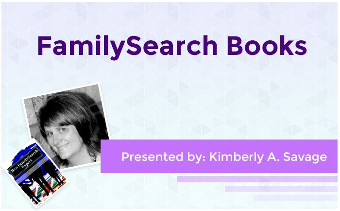 FamilySearch Books