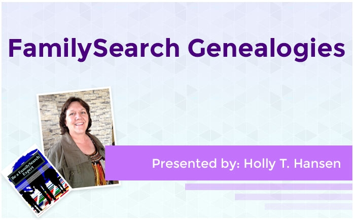 FamilySearch Genealogies