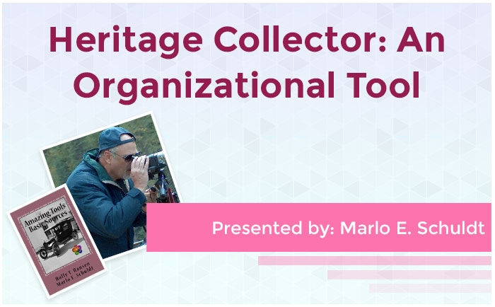 Heritage Collector: An Organizational Tool