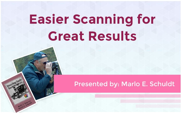 Easier Scanning for Great Results