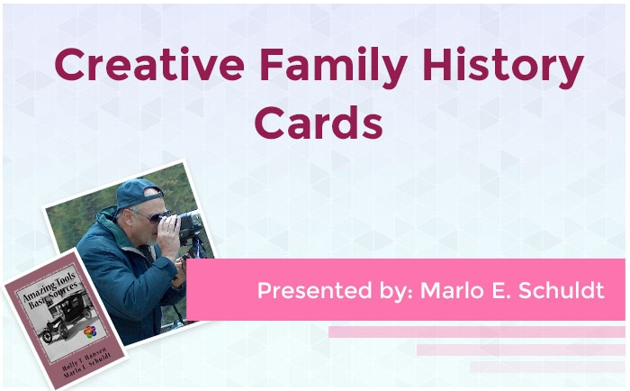 Creative Family History Cards