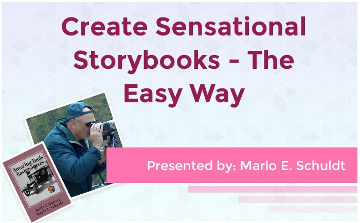 Create Sensational Storybooks - The Easy Way